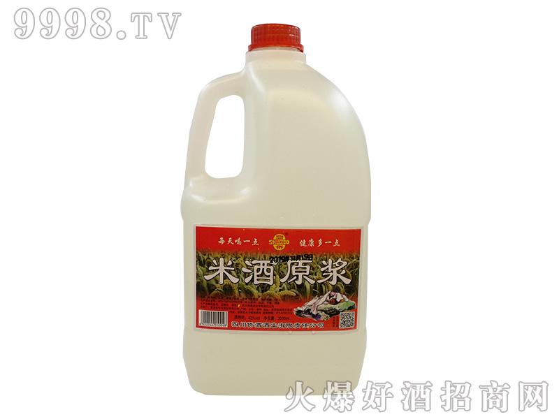 蜀侨米酒原浆42°3000ml浓香型白酒