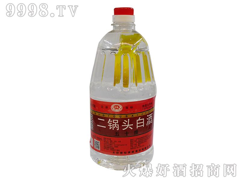 京景二锅头50°1950ml浓香型白酒