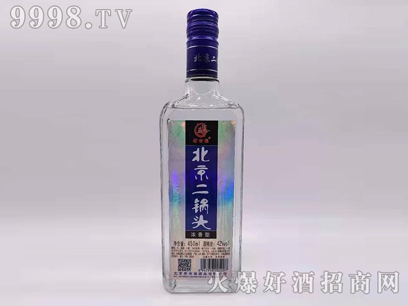 君有福北京二锅头酒42度450ml浓香型白酒
