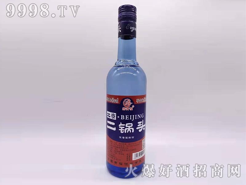 君有福北京二锅头酒42度500ml浓香型白酒红标