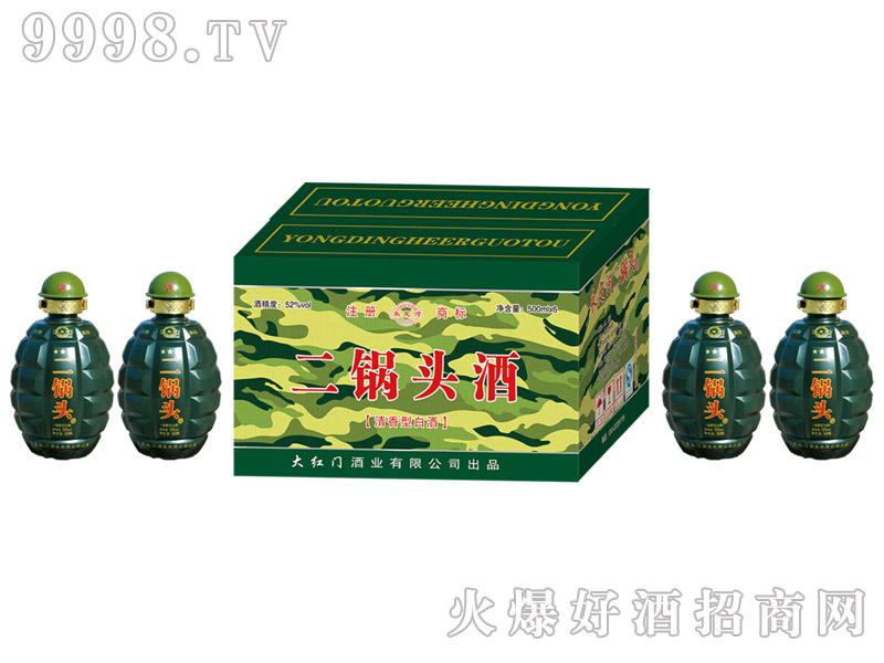 永定河二锅头酒52°500ml×6清香型白酒