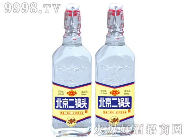 永定河北京二锅头酒42度500ml浓香型白酒