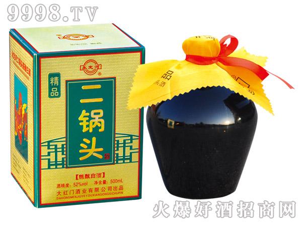 永定河精品二锅头酒陈酿52°500ml清香型白酒