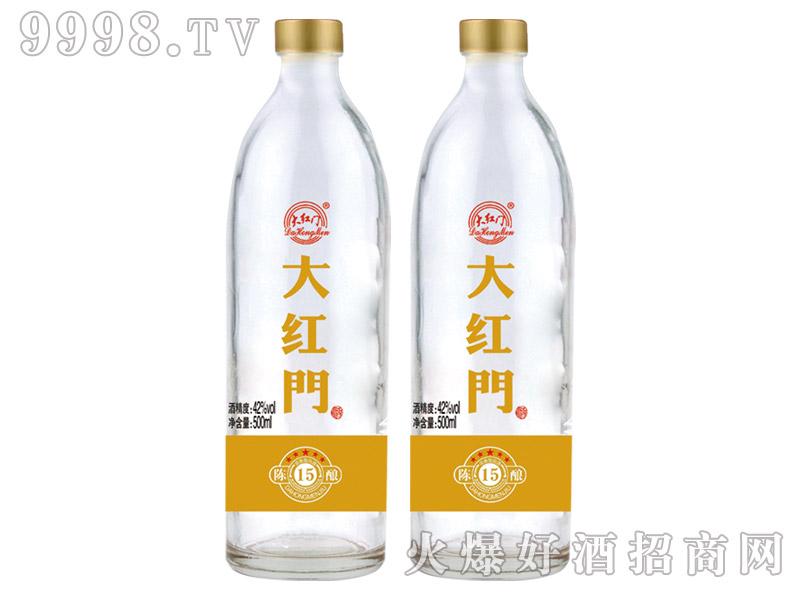 大红门酒陈酿15 42°500ml浓香型白酒