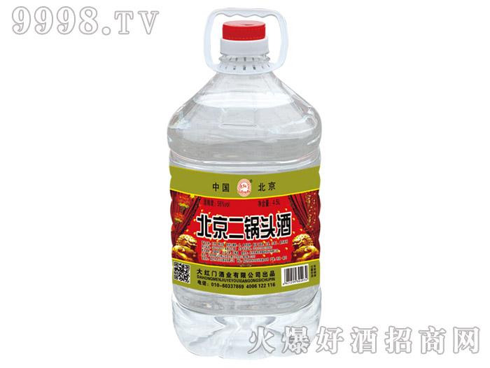大红门北京二锅头酒56°4.5L清香型白酒