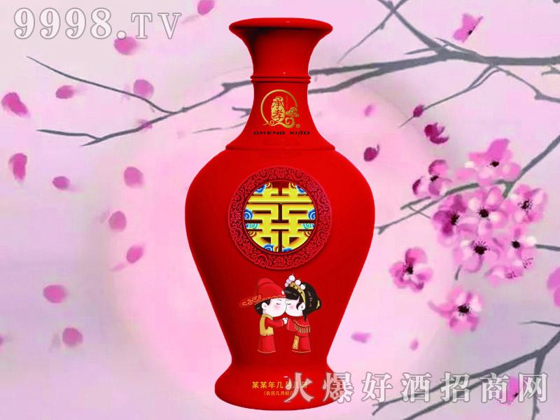 承孝喜酒52°500ml浓香型白酒
