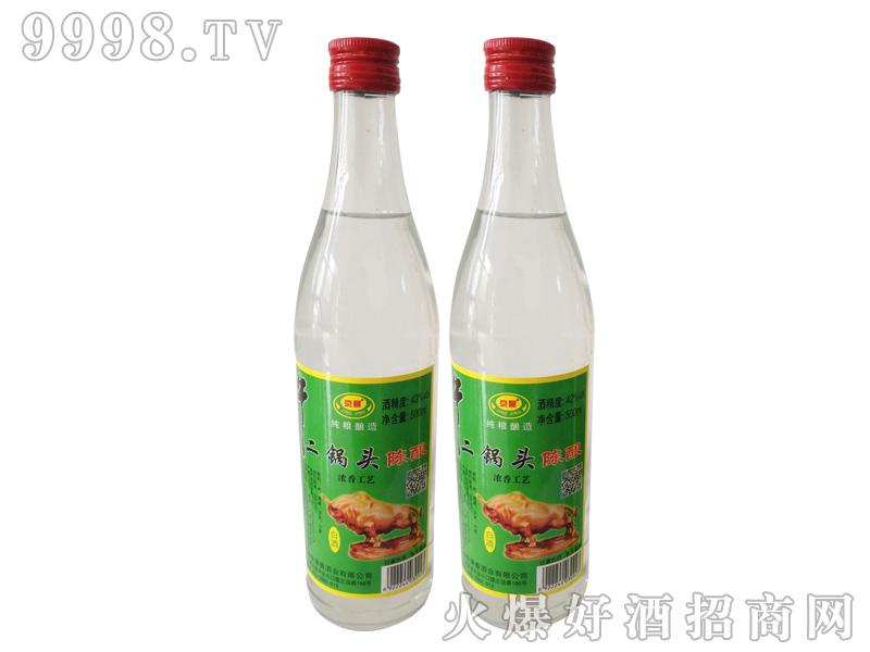 北京二锅头500ml42%vol浓香型白酒