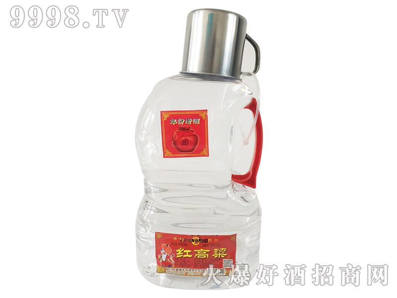 蜀桥红高粱酒42°2500ml浓香型白酒