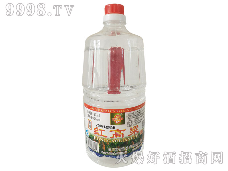 蜀桥红高粱酒40°1500ml浓香型白酒