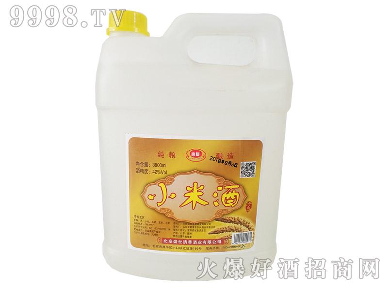 京景小米酒40°3800ml浓香型白酒-白酒类信息