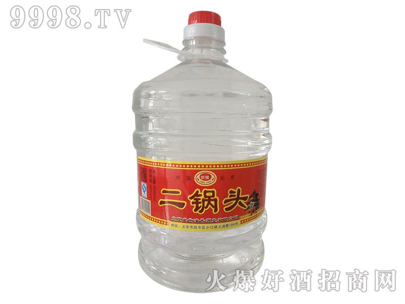 京景二锅头酒40°4000ml浓香型白酒