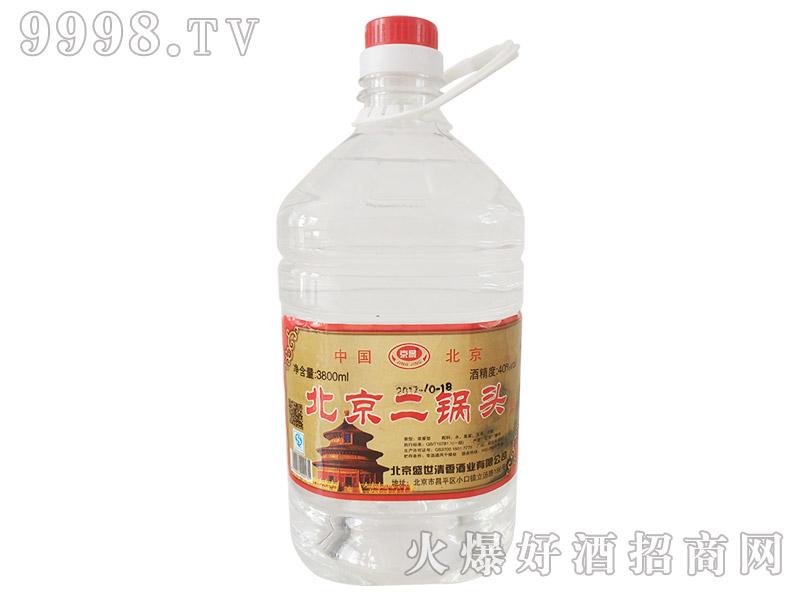 京景北京二锅头酒40°3800ml浓香型白酒