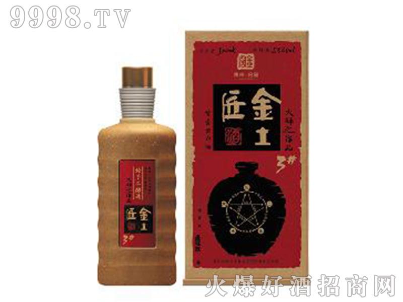 金土匠酒(金)53°500ml酱香型白酒