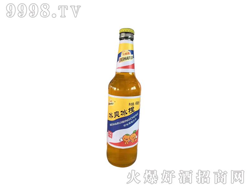 招商产品:冰爽冰橙490ml %>招商公司:山东青伦啤酒有限公司