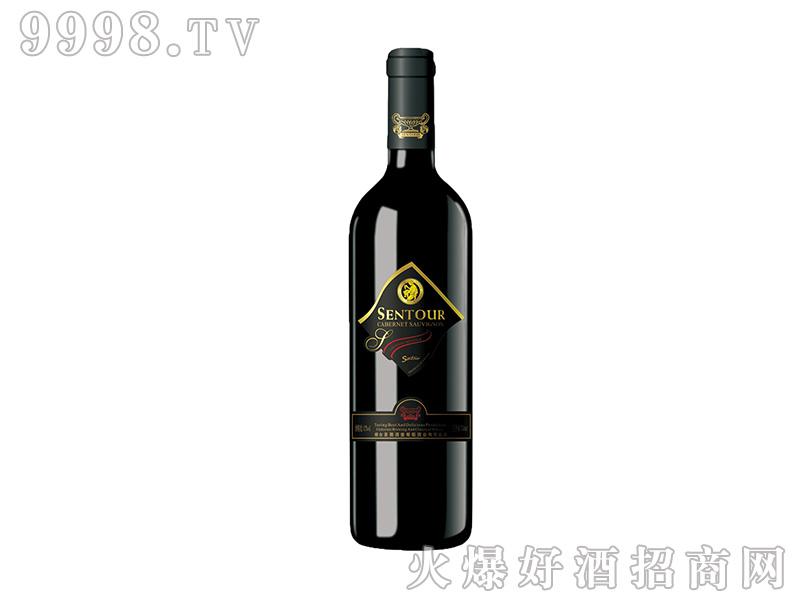 圣图酒堡·赤霞珠干红葡萄酒方标