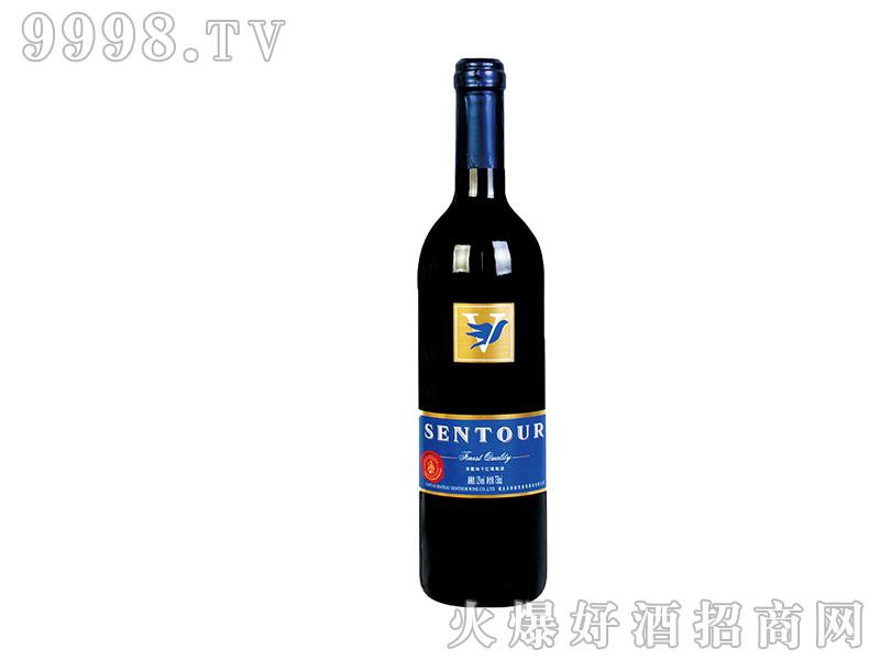 圣图酒堡·赤霞珠干红葡萄酒燕子