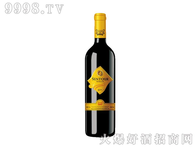圣图酒堡·梅洛干红葡萄酒方标-红酒类信息