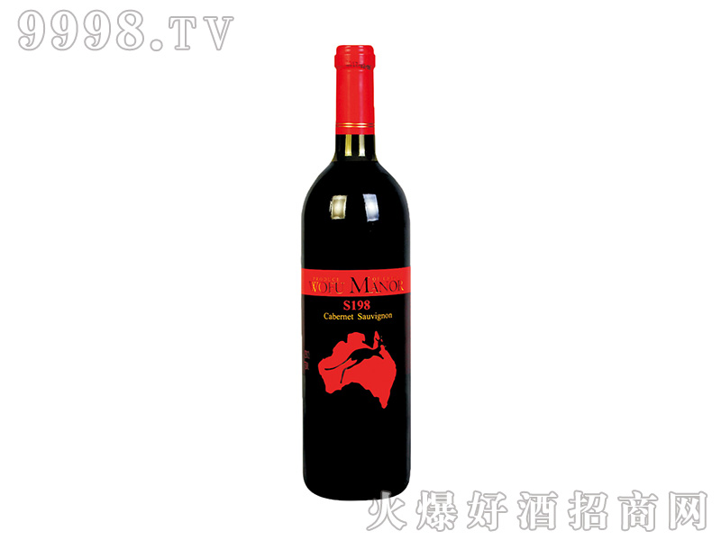 沃富金袋鼠赤霞珠干红葡萄酒