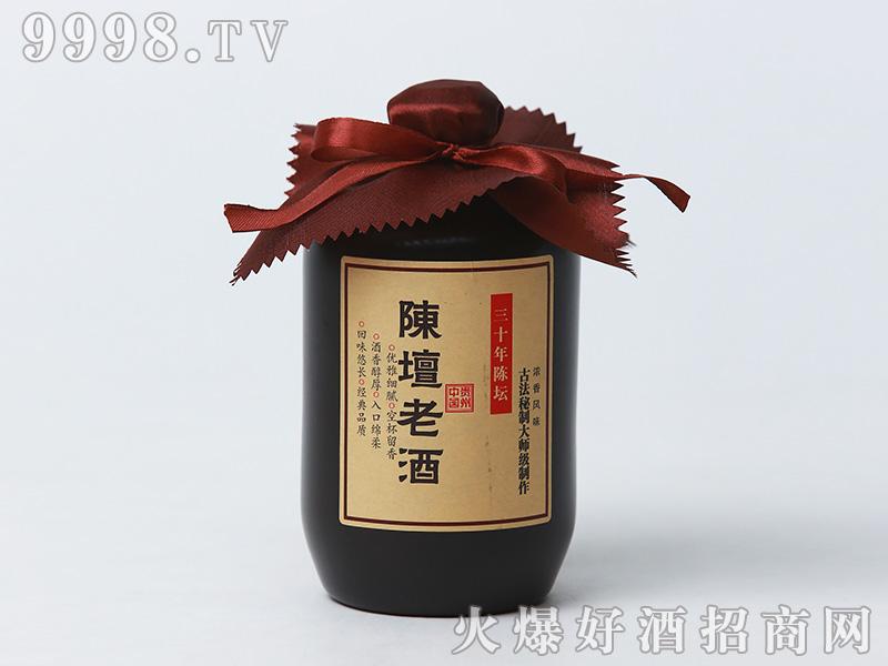 陈坛老酒陈酿浓香型白酒瓶装52°500ml浓香型白酒