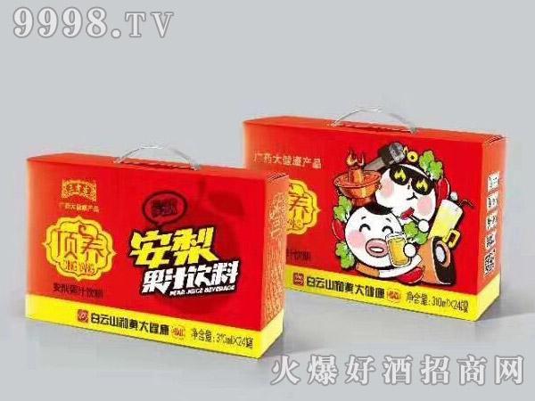 王老吉顶养安梨果汁饮料320ml×24罐