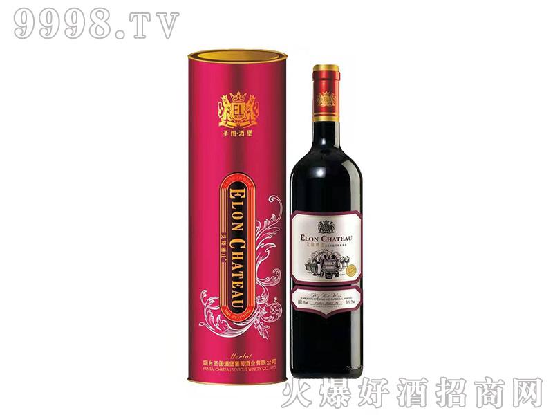 圣图酒堡·艾隆酒庄美乐珍藏干红