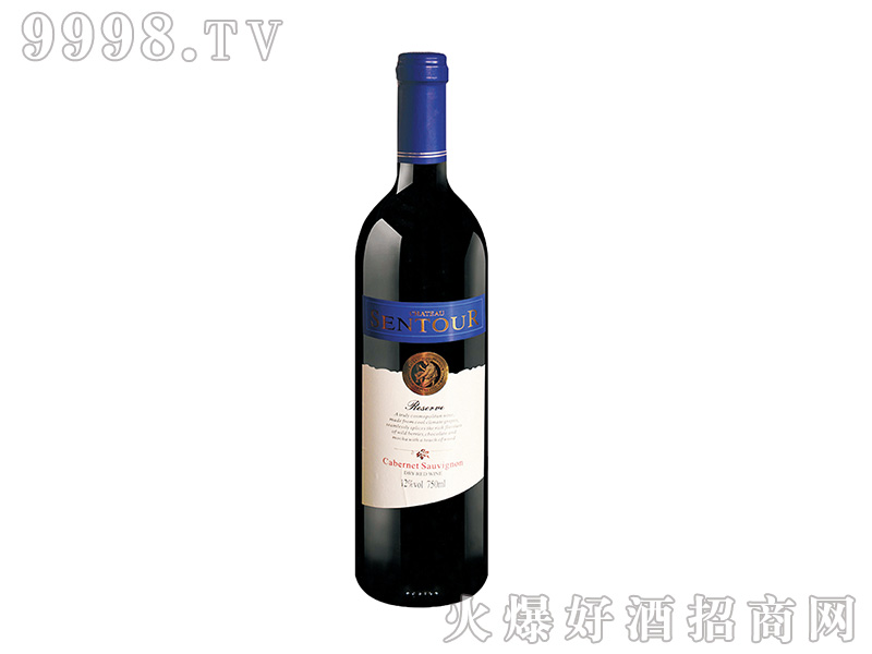 圣图酒堡·赤霞珠干红葡萄酒 老人头