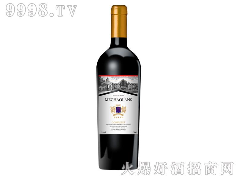 梅超兰士红葡萄酒13.5度750ml