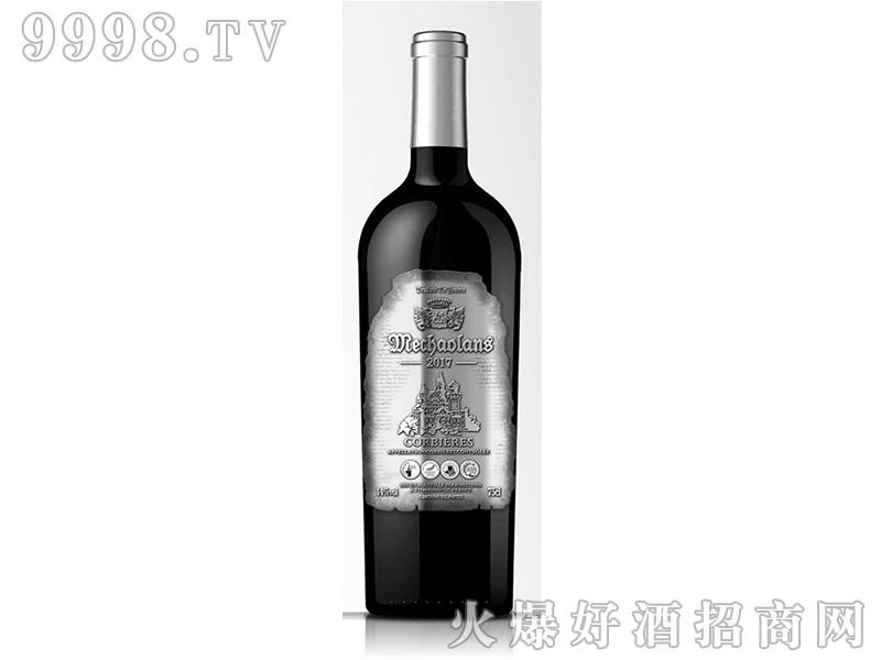 梅超兰士干红葡萄酒14°750ml