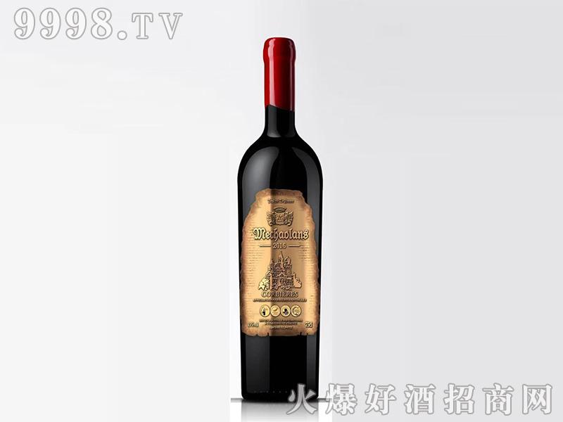 梅超兰士干红葡萄酒13.5°750ml
