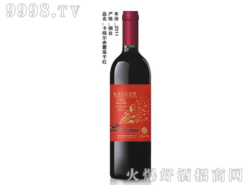 卡格尔赤霞珠干红葡萄酒750ml2011