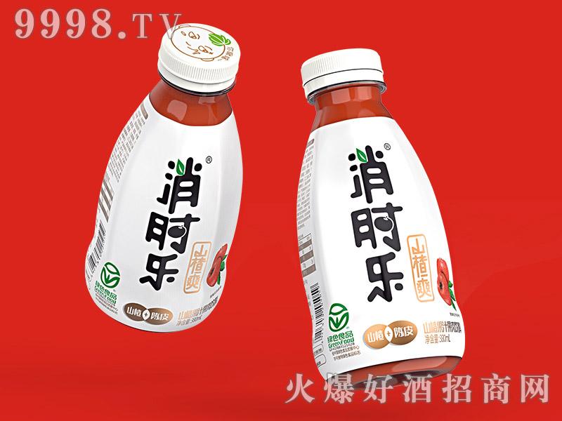 消时乐山楂爽380ml(山楂+陈皮复合果肉饮料)