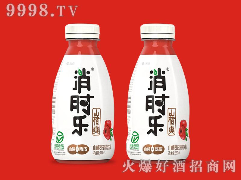 消时乐山楂爽380ml(山楂复合果肉饮料)