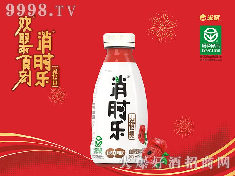 消时乐山楂爽380ml(山楂+陈皮)单瓶装