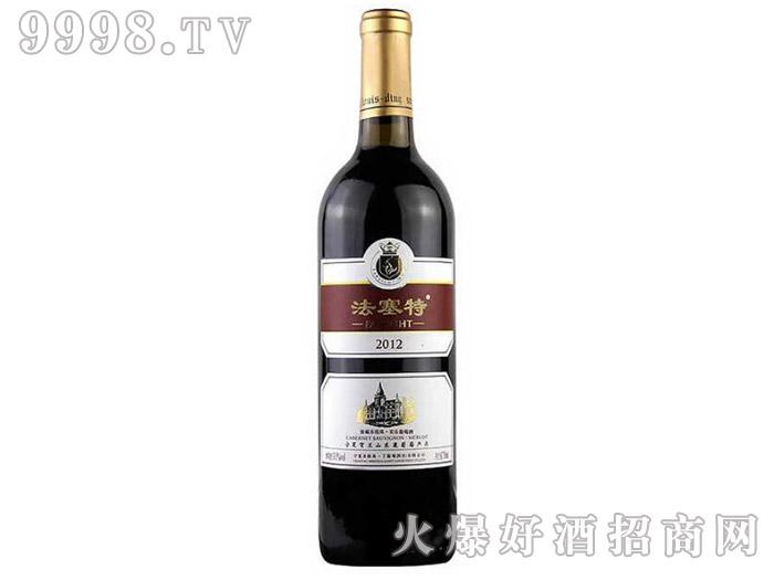 法塞特窖藏赤霞珠·美乐干红葡萄酒2012