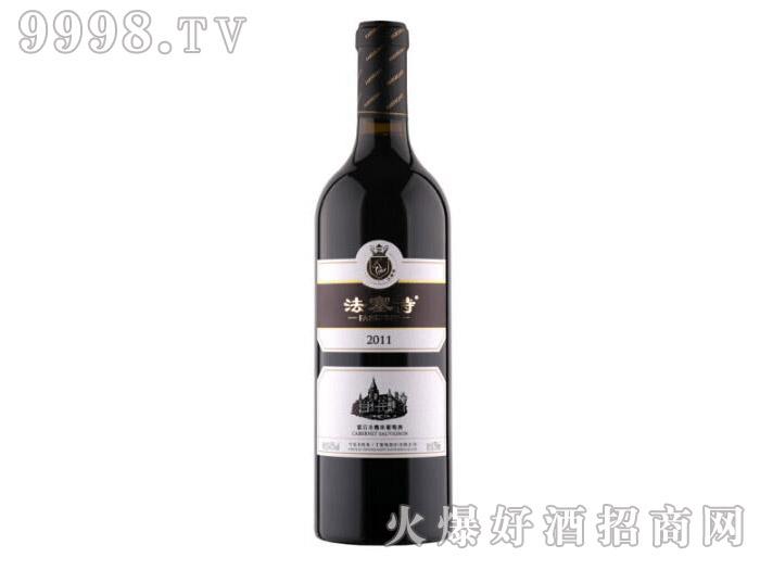 法塞特霜后赤霞珠干红葡萄酒2011
