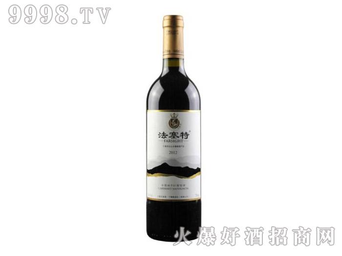 法塞特赤霞珠干红葡萄酒2012