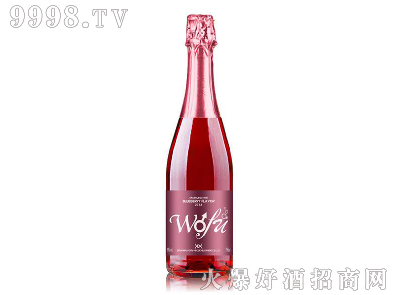 沃富恋爱季蓝莓起泡酒5度