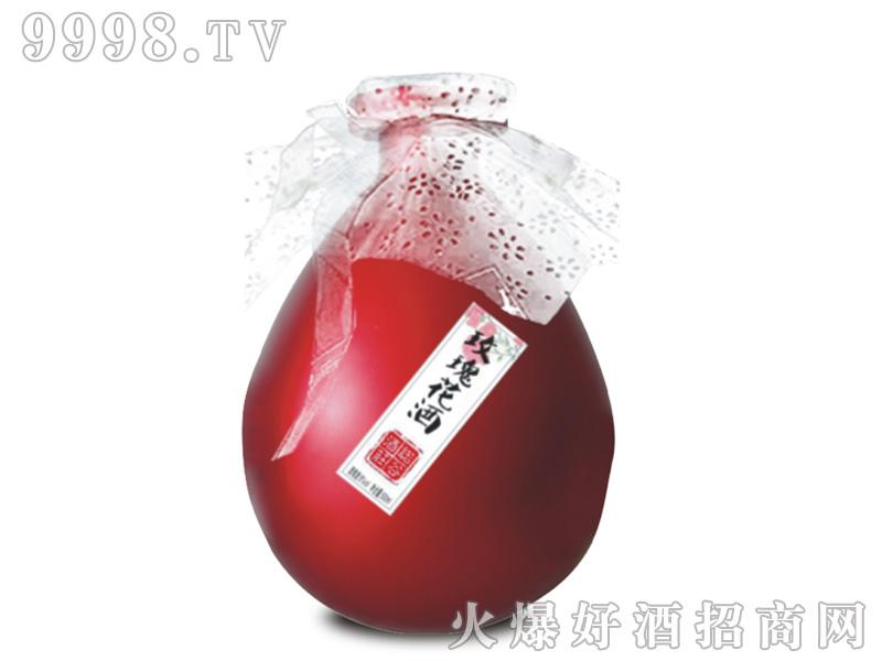 花办花果酒・玫瑰花酒500ml8°-特产酒类信息
