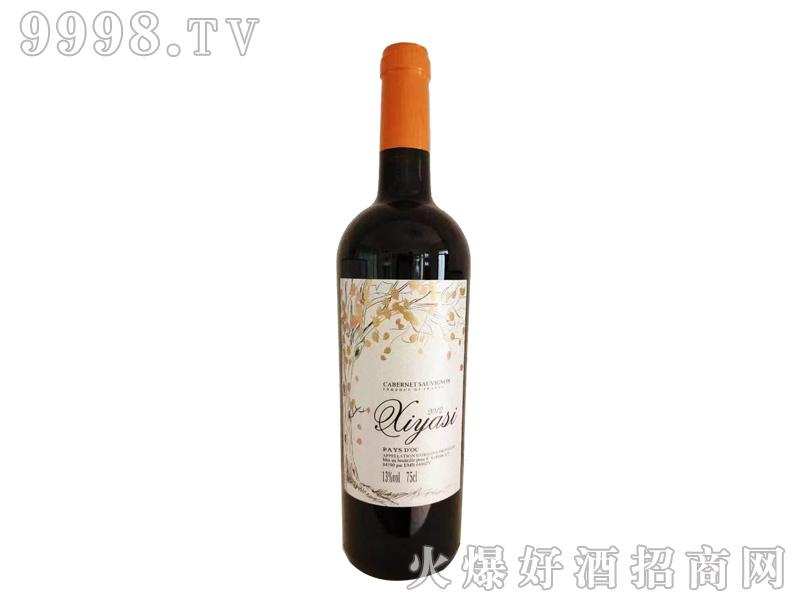 茜娅丝赤霞珠干红葡萄酒13°750ml