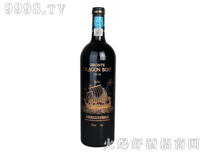 吉伦特龙船干红葡萄酒