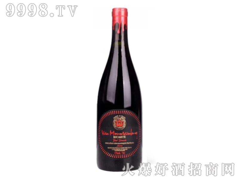 蒙旺���w柏卡图干红葡萄酒
