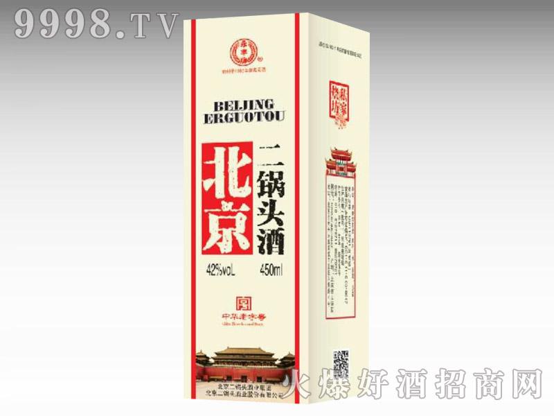 北京二锅头酒42度450ml