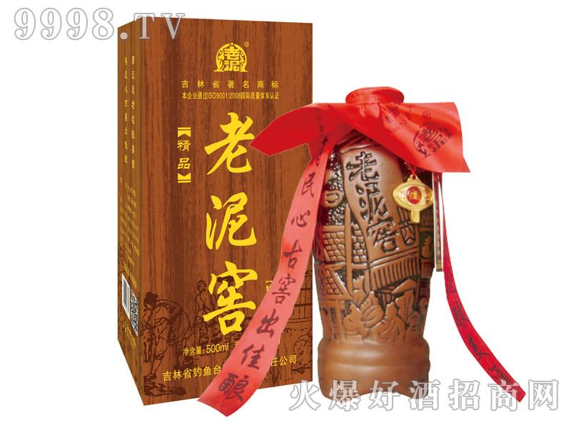 老泥窖酒・仿木盒500ml