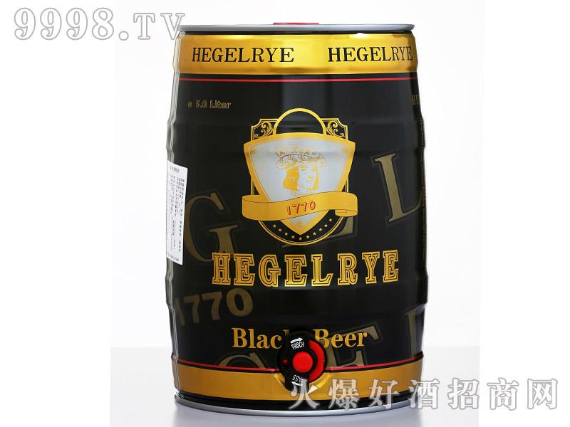 黑格尔黑啤5L