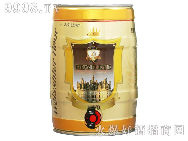 黑格尔白啤5L