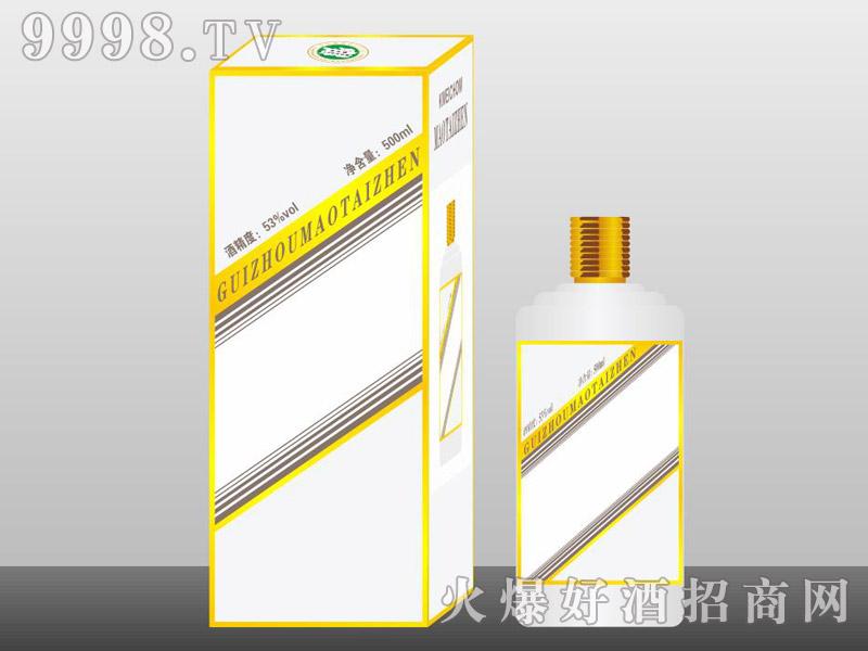 定制酒模板-手工盒生肖瓶银色