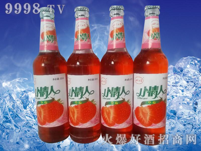 汉斯冰露草莓饮料