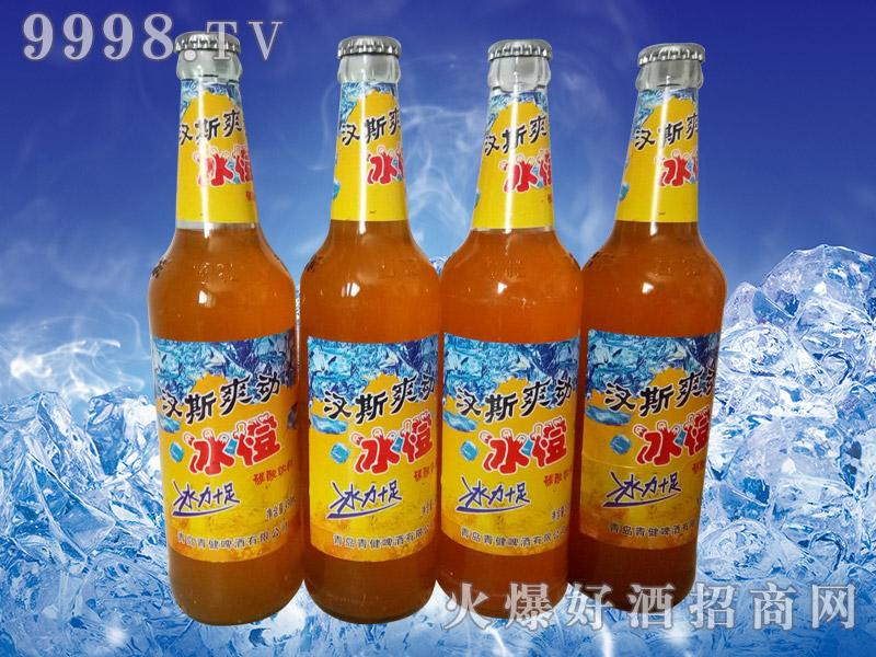 汉斯爽动冰橙碳酸饮料500ml