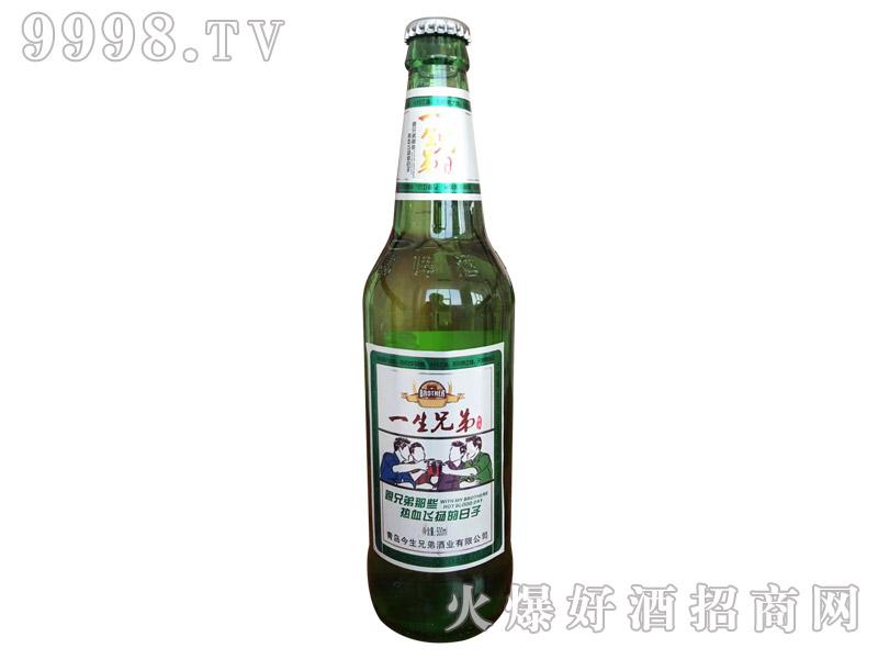 一生兄弟啤酒绿瓶