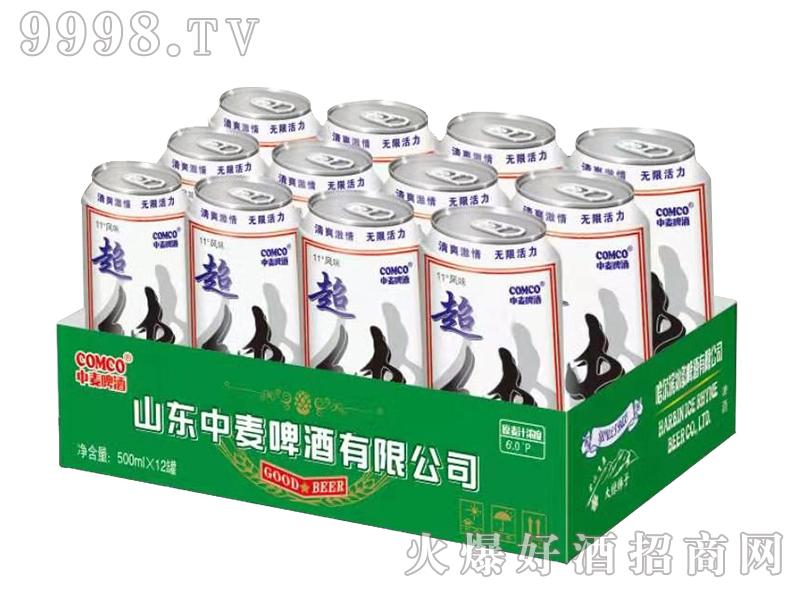 中麦啤酒-超纯500mlx12